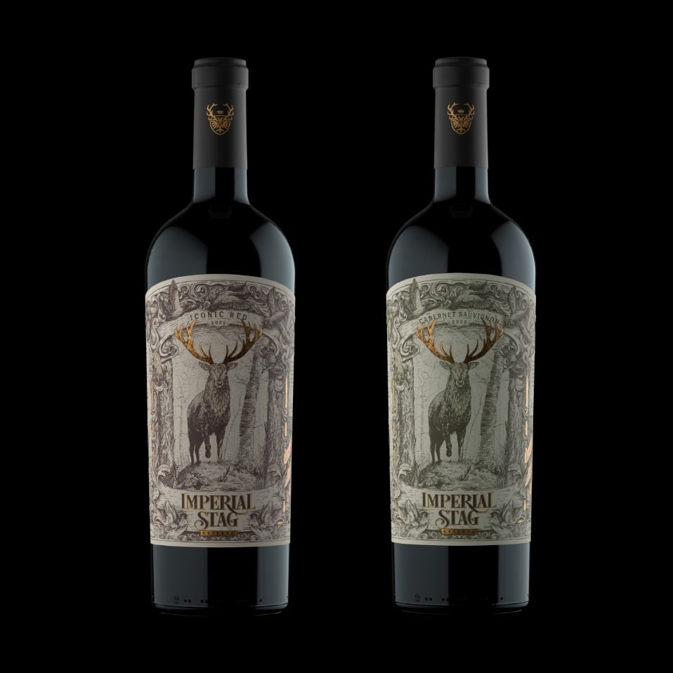 botellas imperial stag