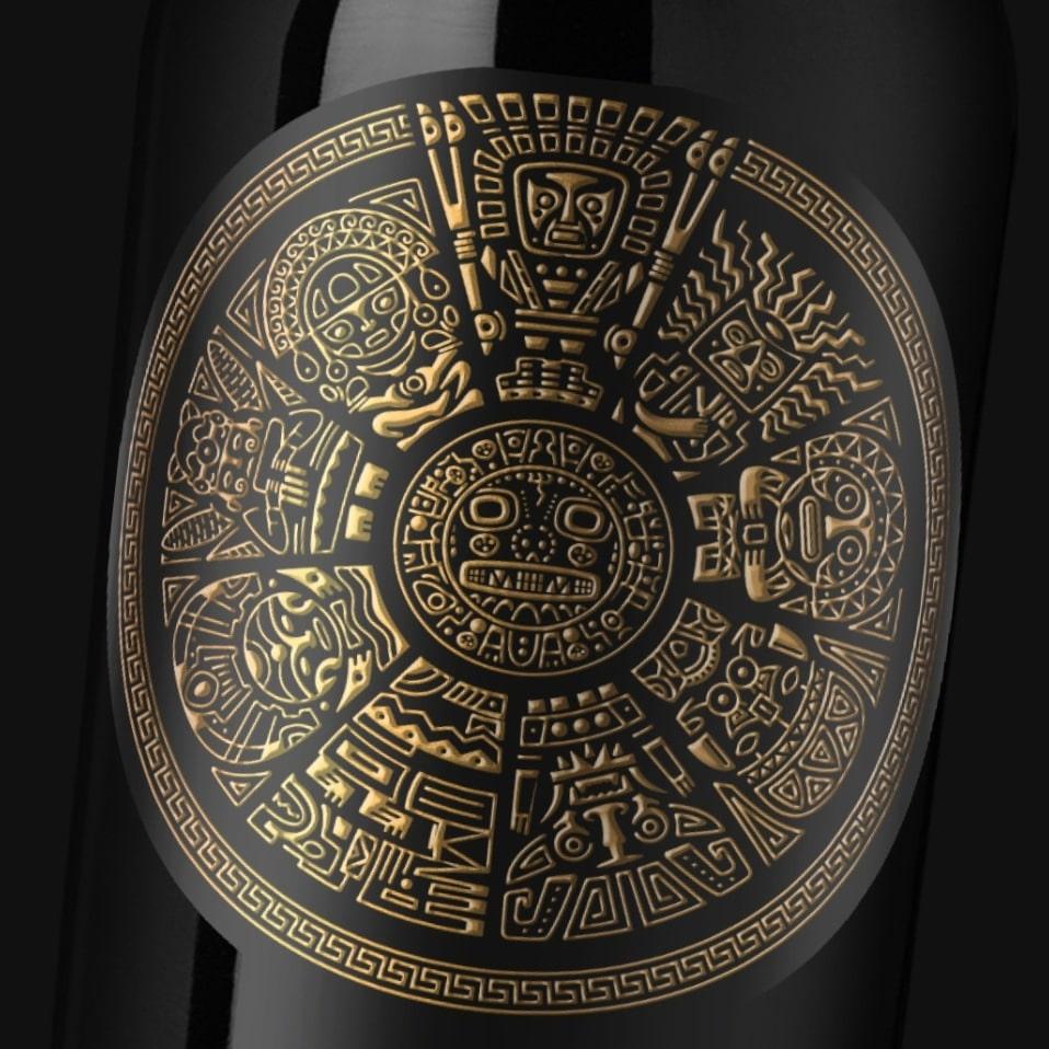 detalle etiqueta inca