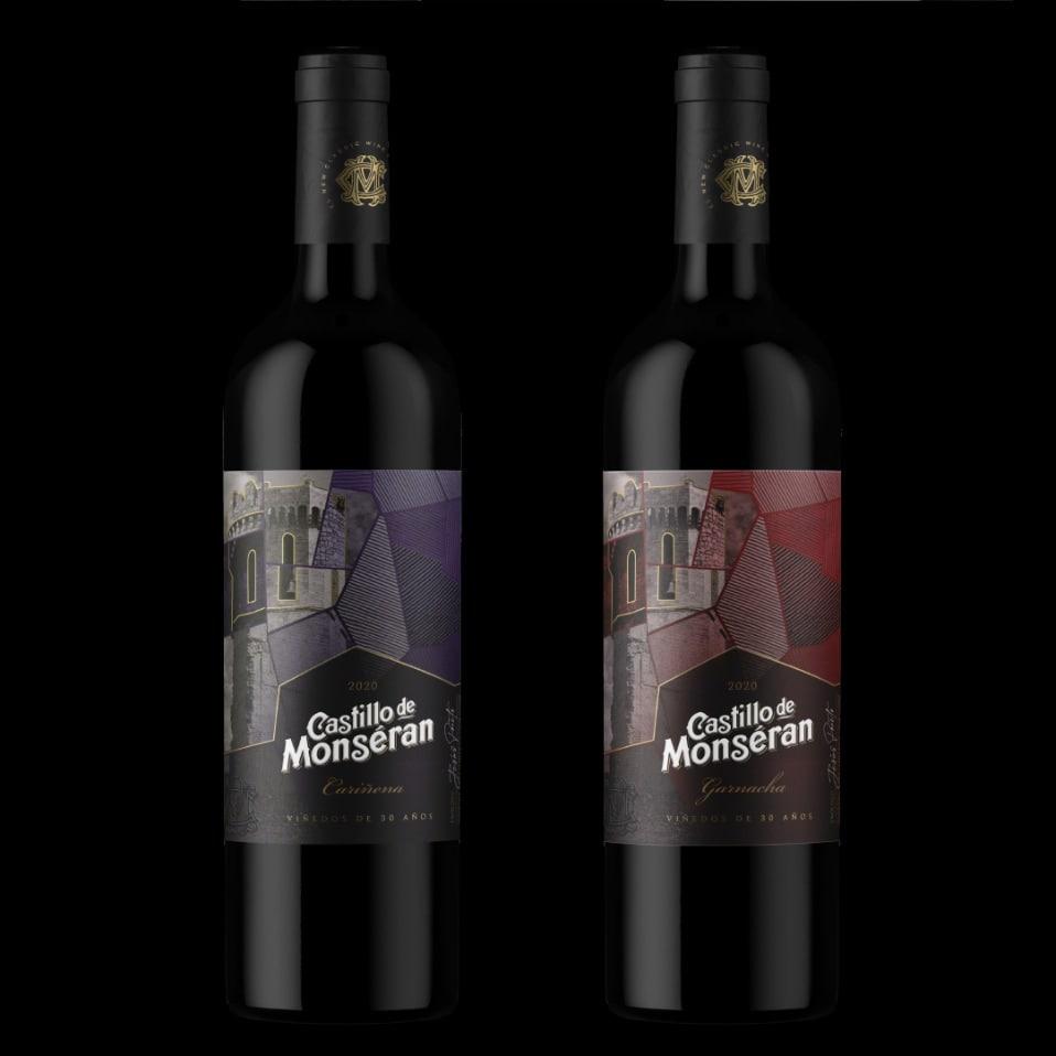 botellas castillo de monseran