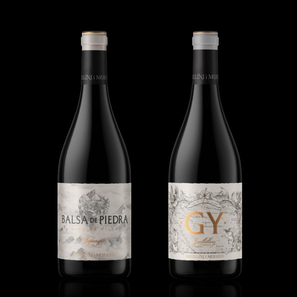 GY y Balsa de Piedra botellas
