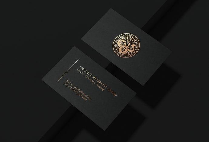 compañia uruguaya de vino tarjetas