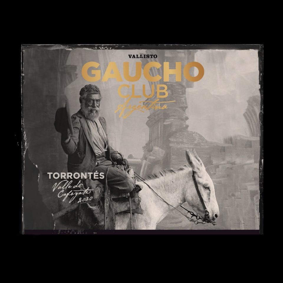 The Gaucho Club etiqueta Torrontes