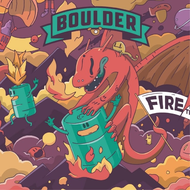 Boulder fire in the keg